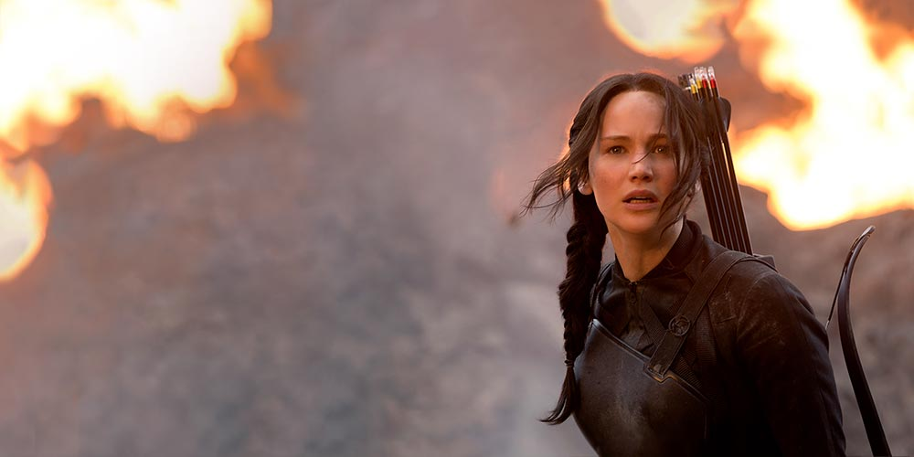 Top series en films zoals de 'The Hunger Games' trilogie